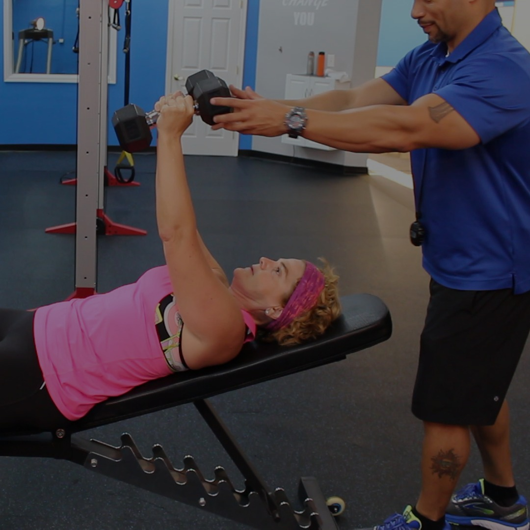 personal training palm beach gardens weight loss client